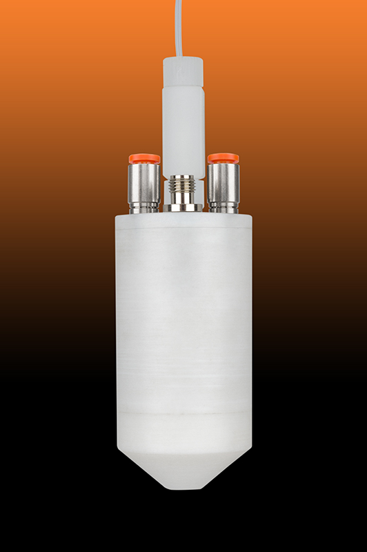 Fluoropolymer Atomizer Nozzle for Fluorene